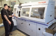 The Standard Horizon BQ-470 Perfect Binder was installed and operational in under a day.